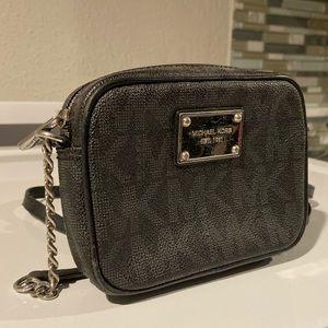 Michael Kors Small Logo Crossbody Bag Black